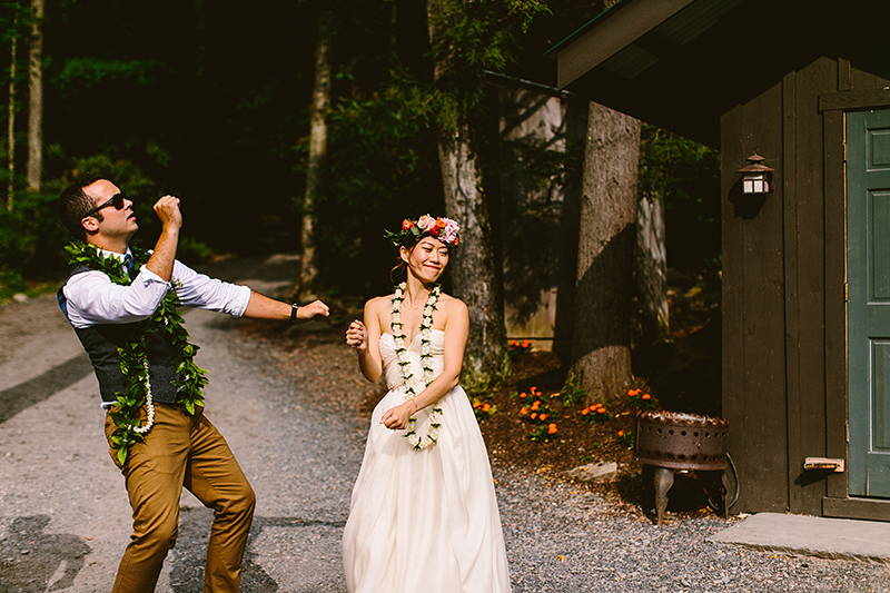 Tall Timber Barn Poconos Wedding (80)