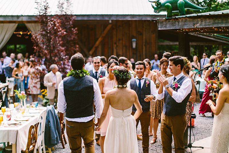 Tall Timber Barn Poconos Wedding (82)
