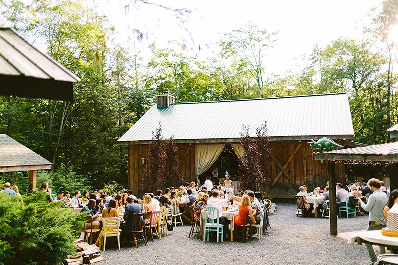 Tall Timber Barn Poconos Wedding (89)
