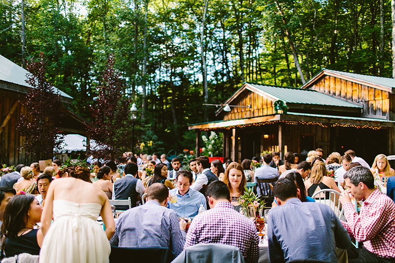 Tall Timber Barn Poconos Wedding (91)