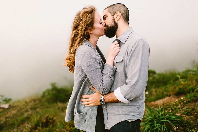 marin headlands engagement shoot