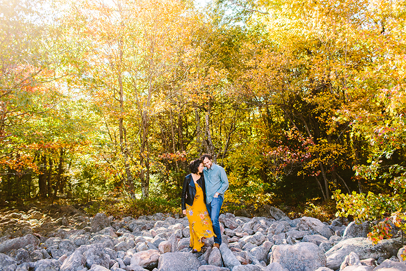 Hickory Run State Park Engagement Shoot (1)