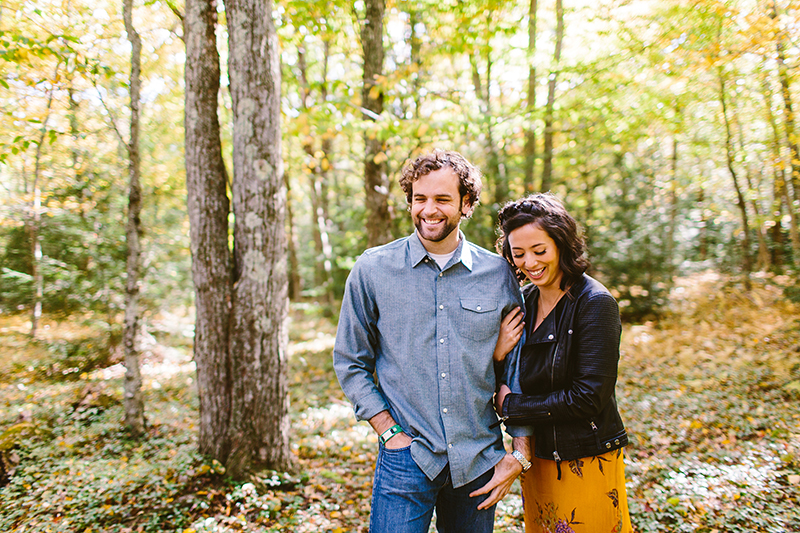 Hickory Run State Park Engagement Shoot