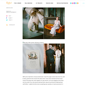 Metropolitan Building, A Vintage Inspired New York City Wedding on Ruffled Blog.jpg