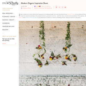 Modern Meets Organic Wedding Editorial on Style Me Pretty.jpg