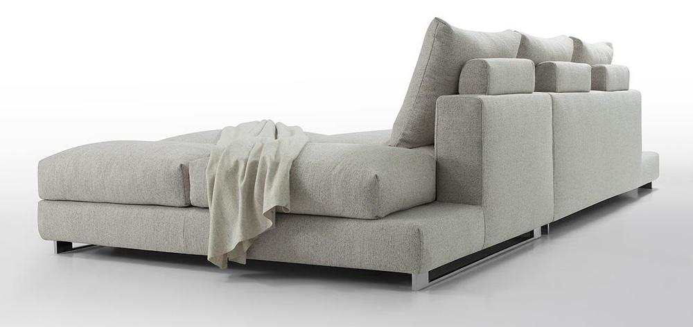 Vasto Modern Fabric Sectional Down Filled Cushions ARTWERKS
