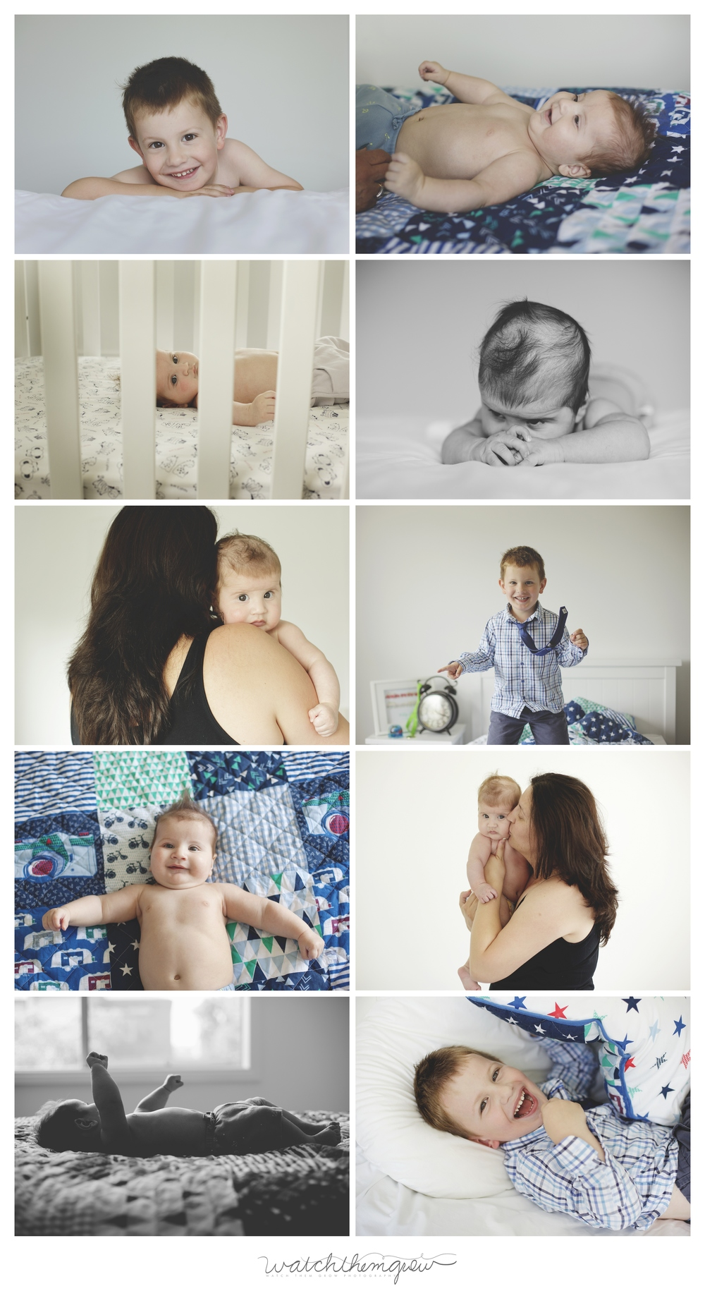 3 Month Old Baby & Family Session