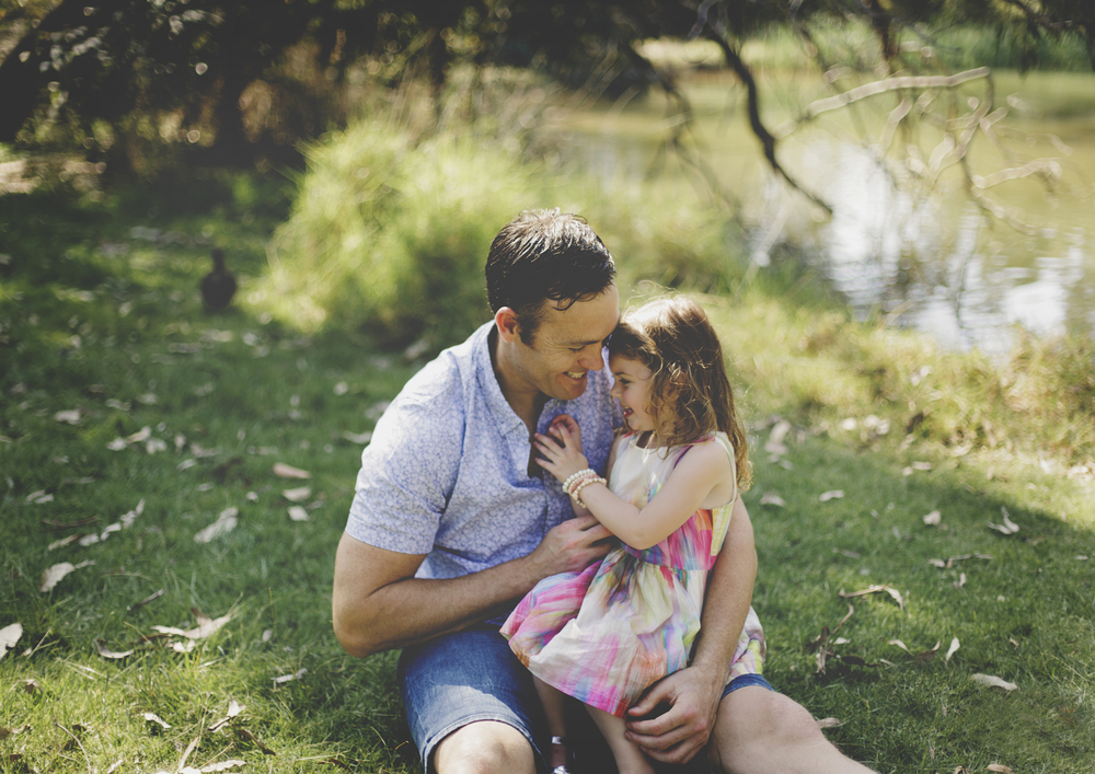 A Dad's gorgeous relationship with his little girl!