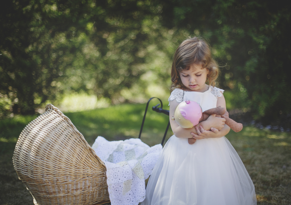 Little girl and her favourite doll!