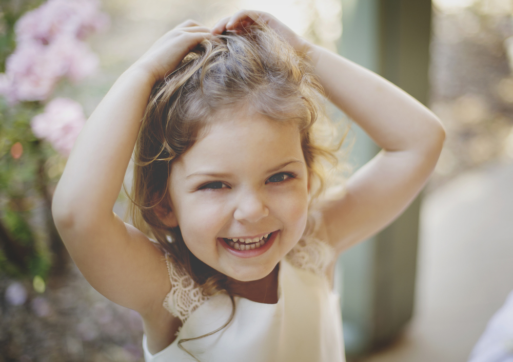 Gorgeous little three year old!