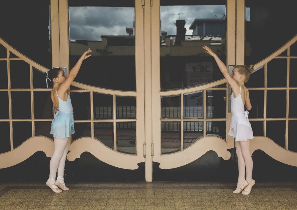 Ballet dancing practice!