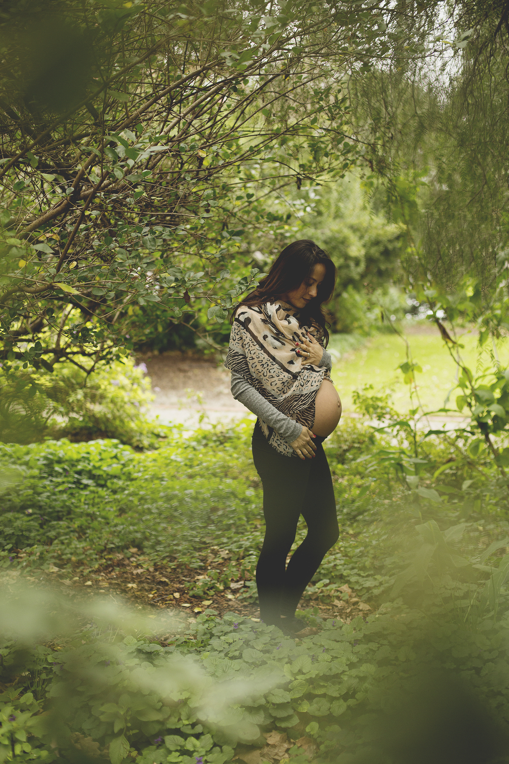 Natural Pregnancy Lifestyle Photography