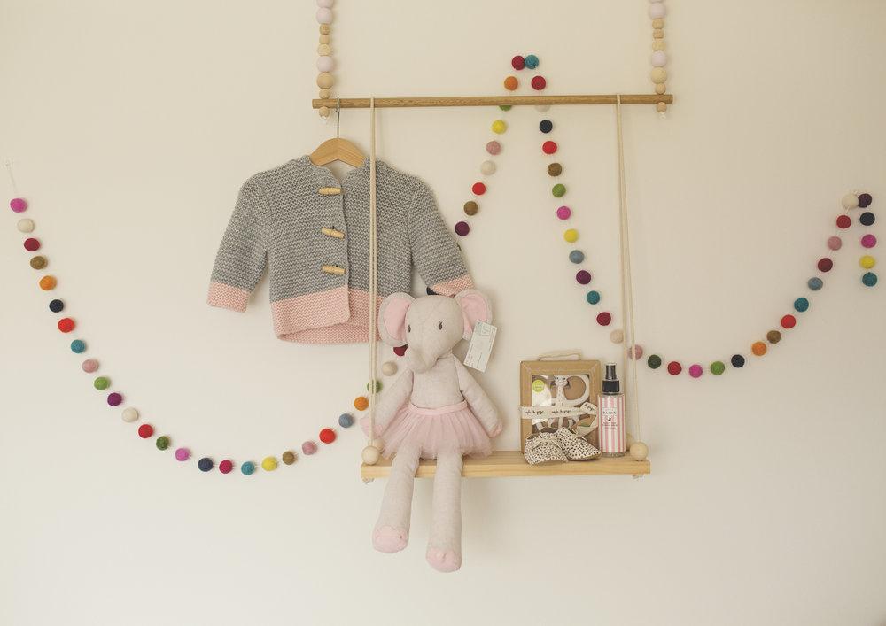 Baby girl's nursery!