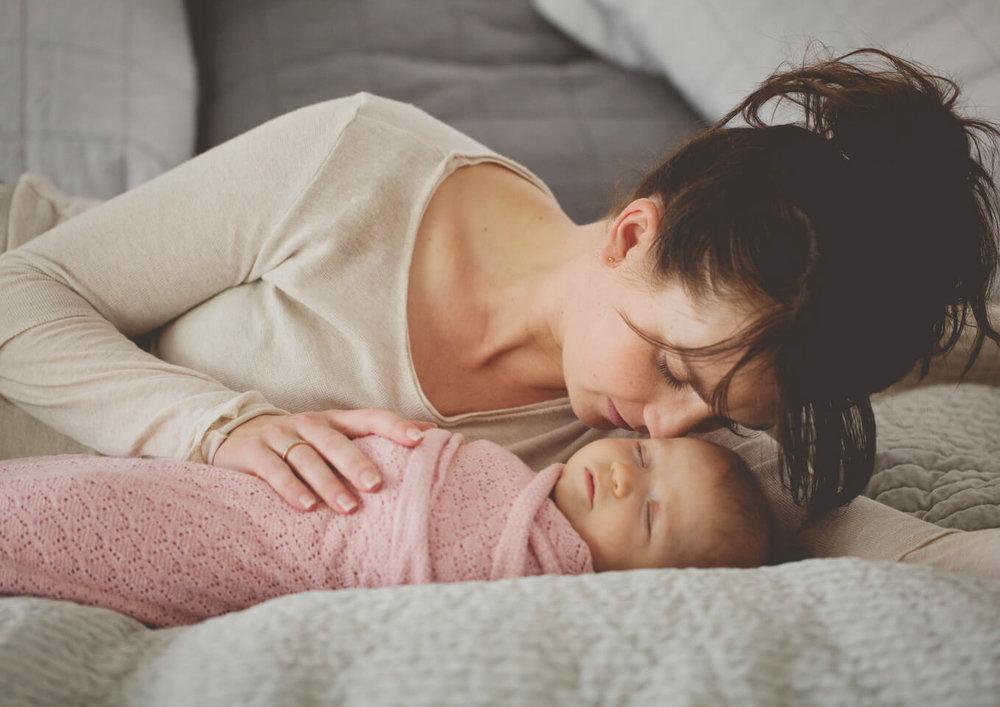 Scent of a newborn baby