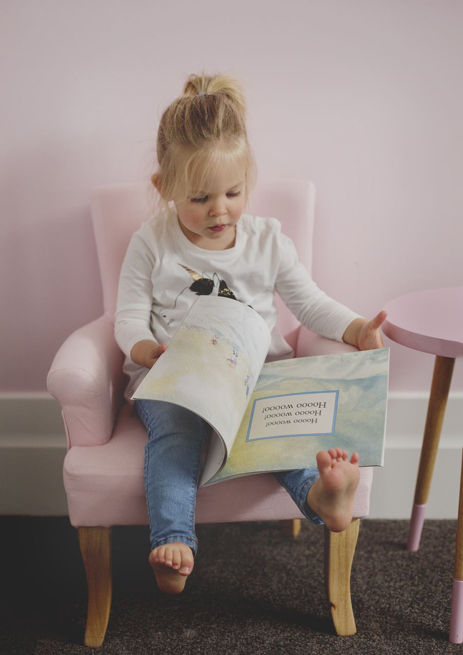 Toddler reading time!
