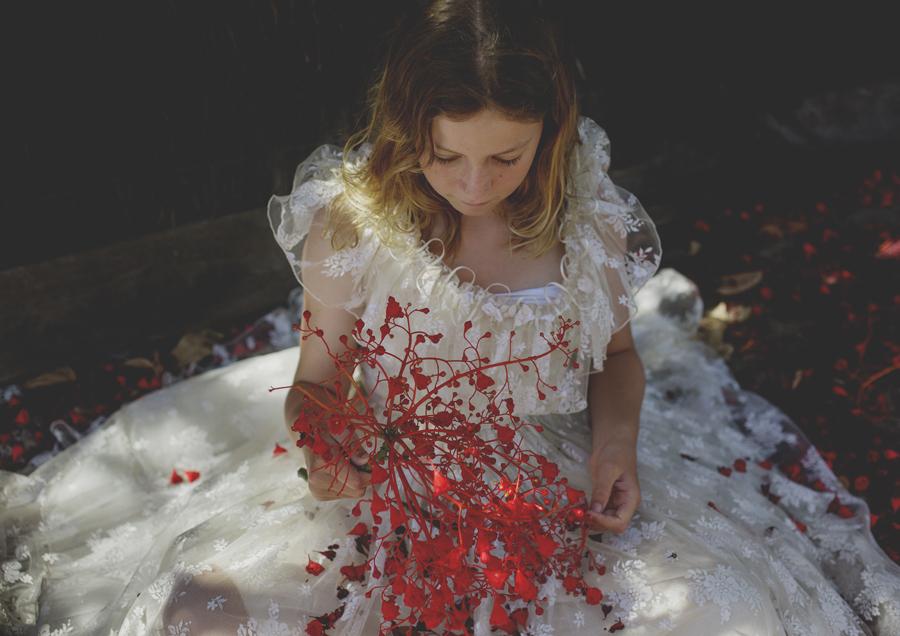 Styled Photo Shoot of Tween Girl