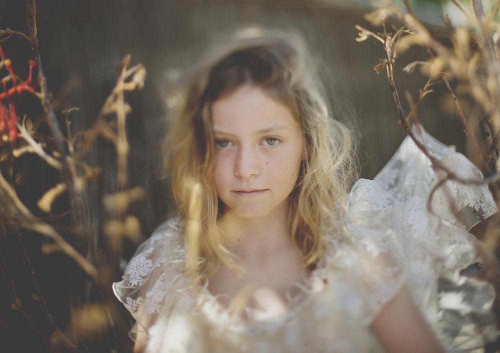 Freelensed image of Tween Girl