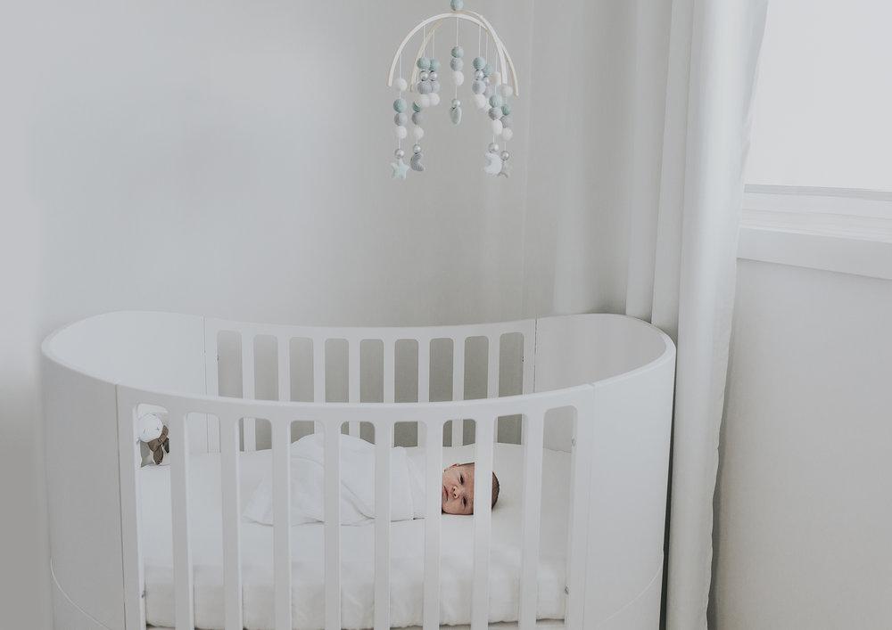 In home newborn photography Bayside
