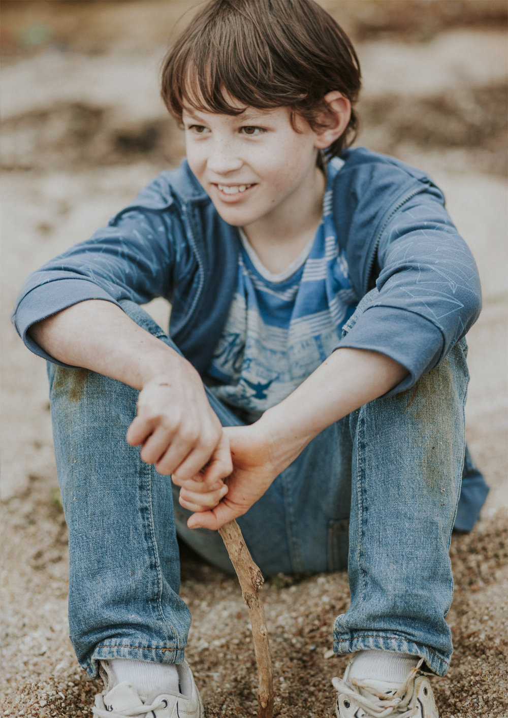 Lifestyle photography of boys in Bayside Melbourne