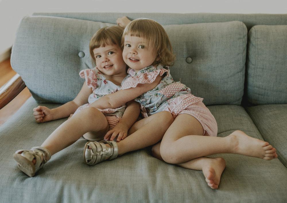 2 Year Old Twin girls!