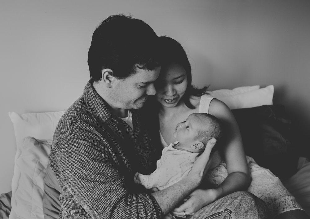 Newborn Photography Family
