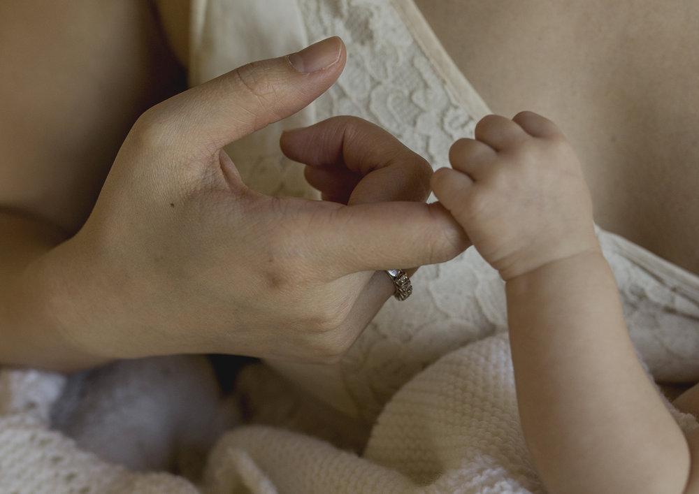 Newborn Baby Tiny Fingers