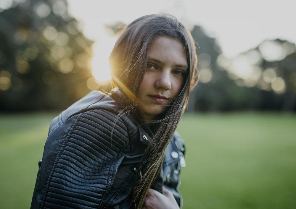 Natural Teenager Photography Bayside Melbourne