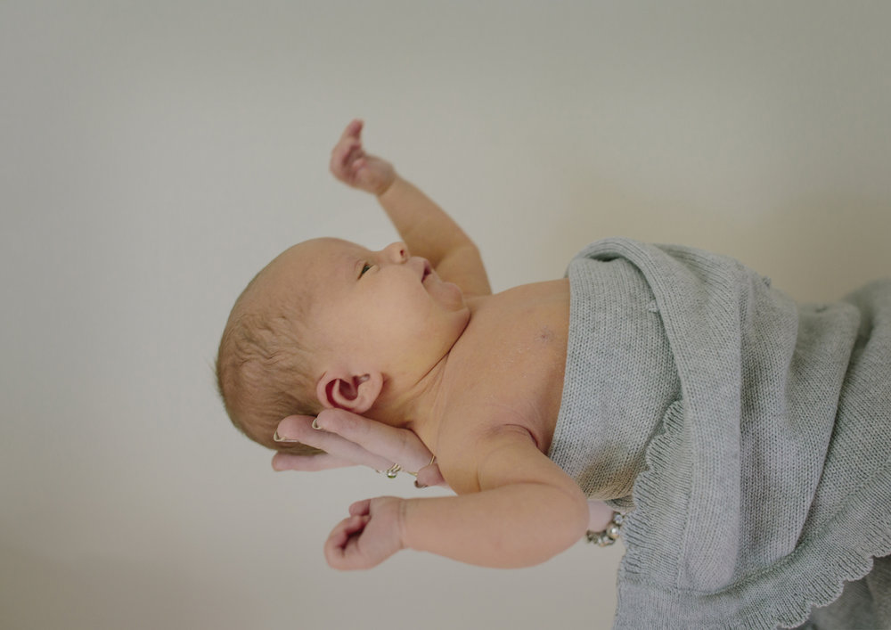 Newborn photography in my home studio