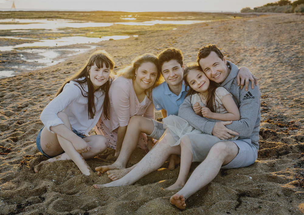 Beach Family Photography Bayside Melbourne