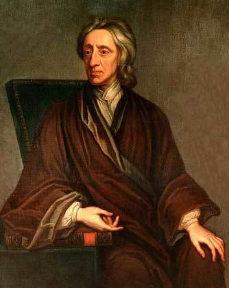 Philosopher John Locke (1643-1704), British Empiricist