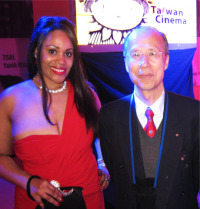 Princess Angelique Monét and Film Ambassador of Taiwan, Michel Ching-long Lu