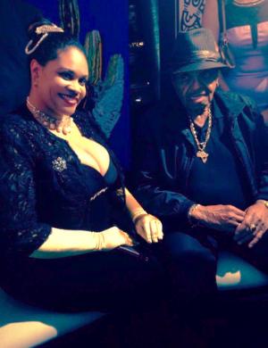 Princess Angelique Monét with Joe Jackson.