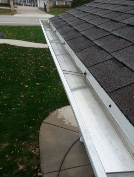 This is good. - If your gutters look like this, don't call us.