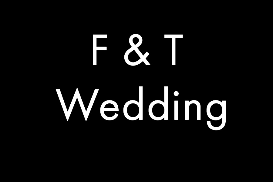 F & T Wedding