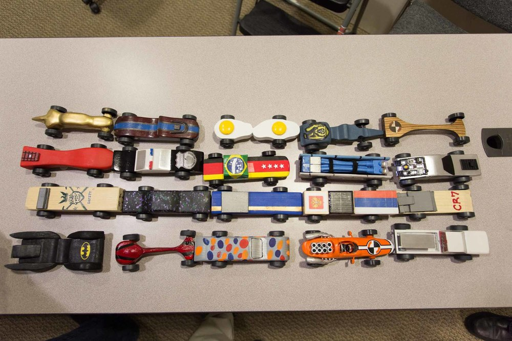 CHH Pinewood Derby