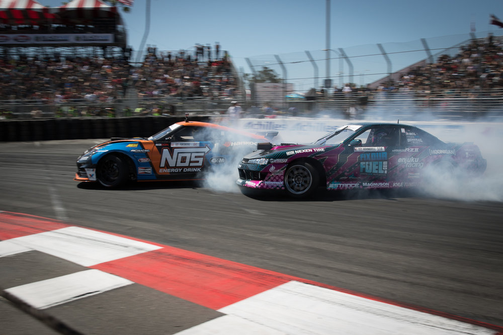 Alec Hohnadell #118 Formula Drift Round 1: Long Beach #FD, #formulad, #FDLB, #formulad, @BillWangPhotos, @SlidewayzorNoways