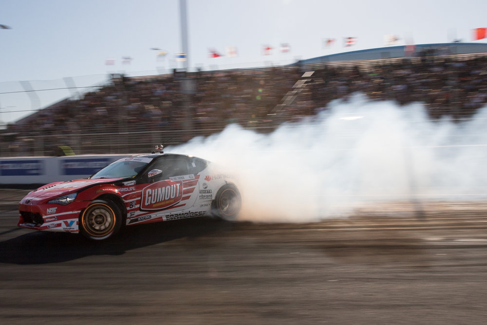 Ryan Tuerck #411 Formula Drift Round 1: Long Beach #FD, #formulad, #FDLB, #formulad, @BillWangPhotos, @RyanTuerck