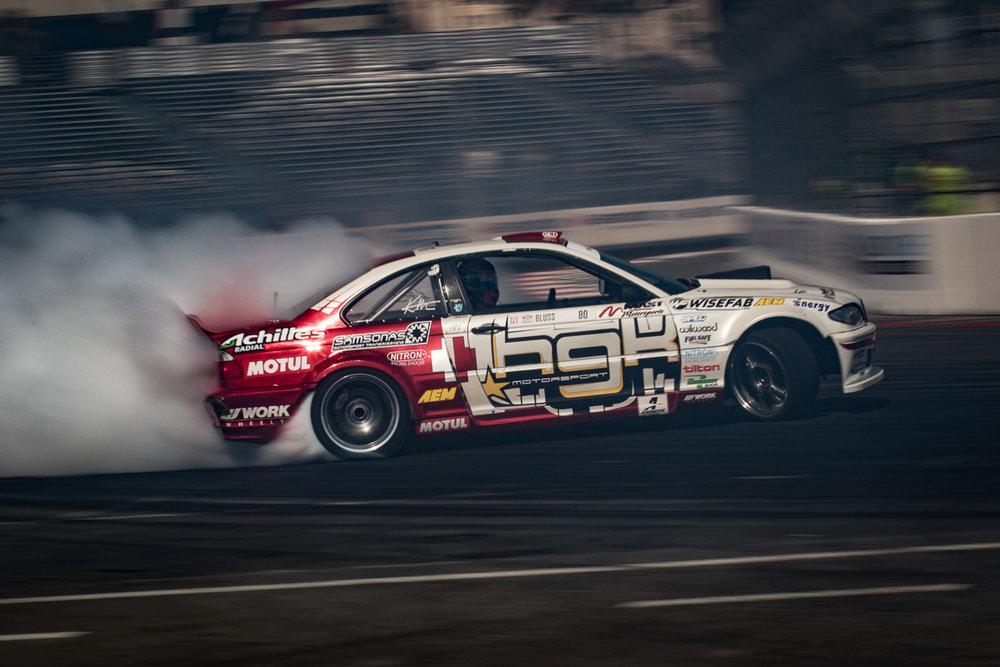 Kristaps Bluss #80 Formula Drift Round 1: Long Beach #FD, #formulad, #FDLB, #formulad, @BillWangPhotos, @Kristaps Bluss
