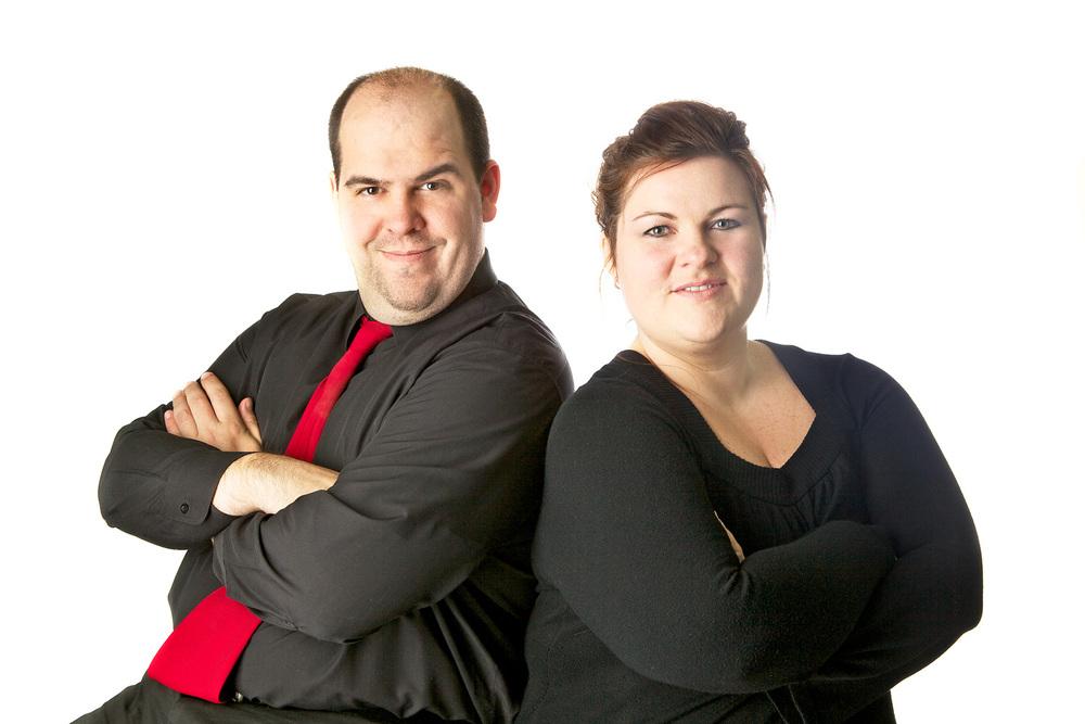 Chris O. Biddle and Jenn Kincaid