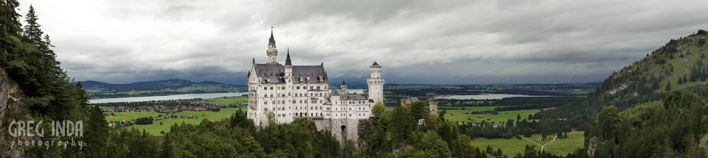 Click to view in a lightbox.  Neuschwanstein Castle , Bavaria, Germany. Photo by Greg Inda