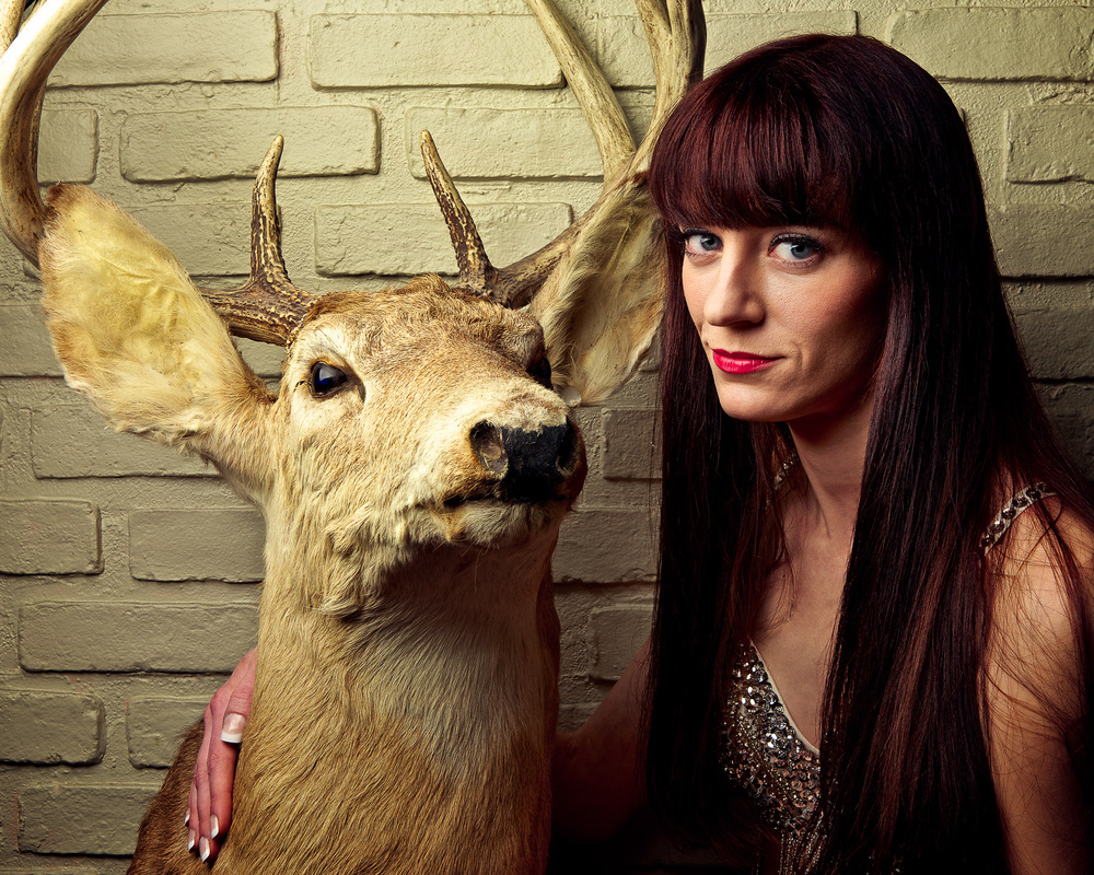 Deja Sue and Taxidermy are joined at the proverbial hip.