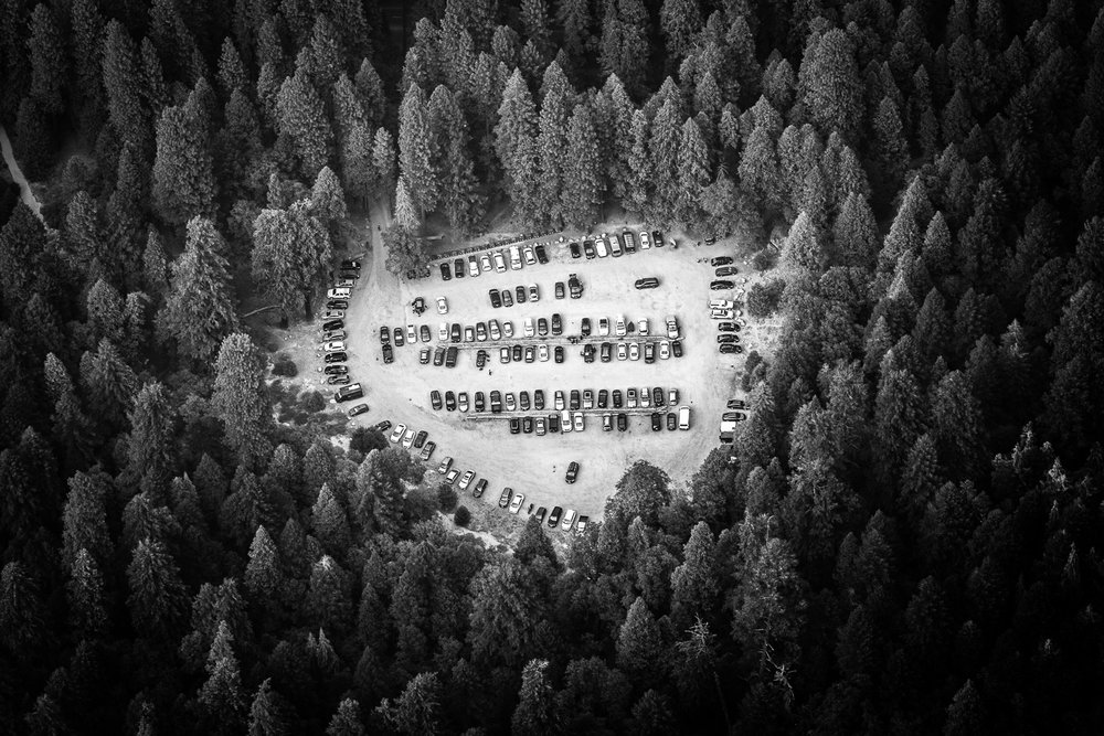 Yosemite Parking Lot