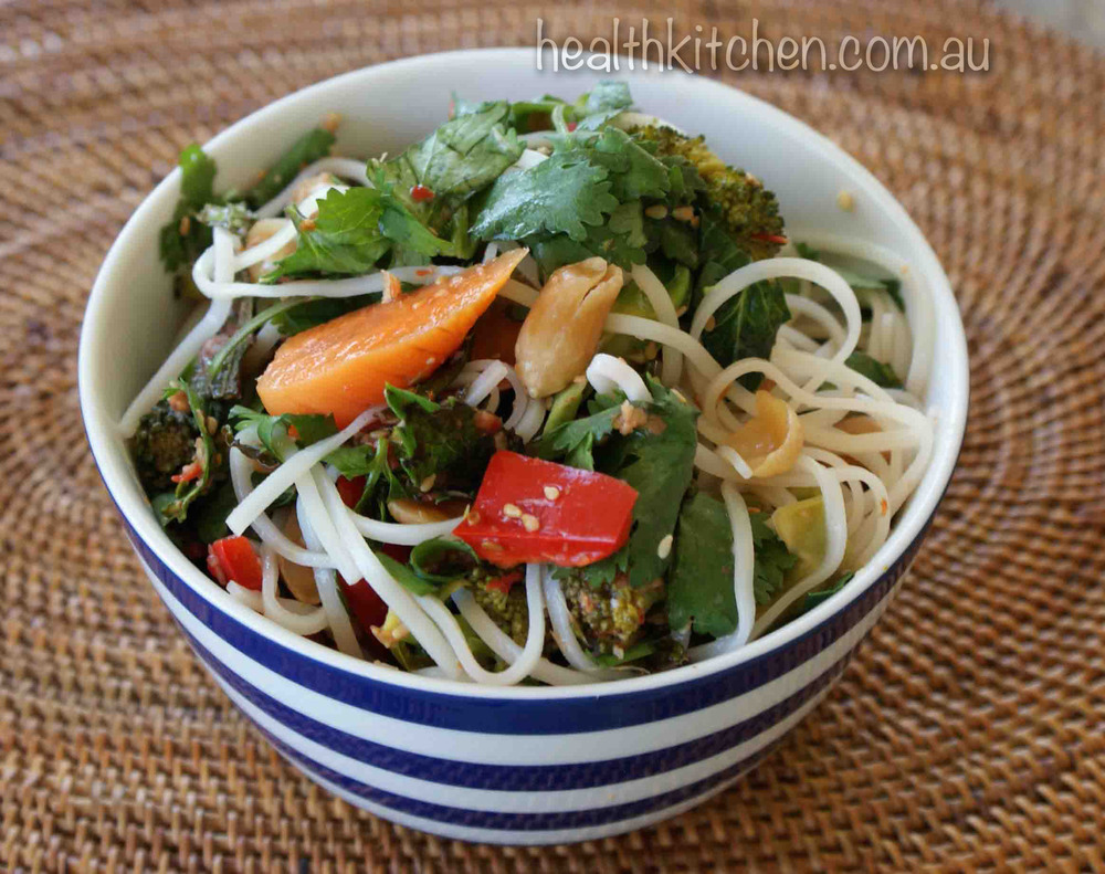 Nonyan Noodle Salad Recipe Health Kitchen