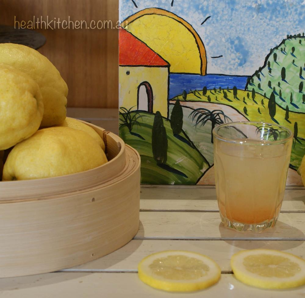 Daily Lemon, Water, Vitamin C Powder & Cayenne Pepper Morning Drink - Good Liver Cleanser
