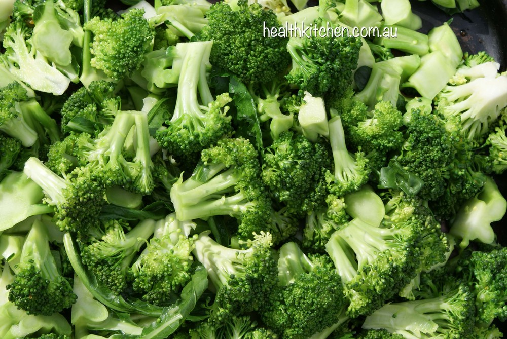 Raw Broccoli Contains Vitamin C