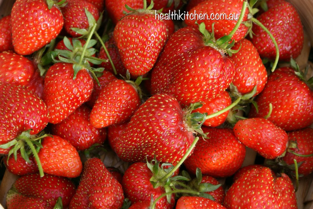 Strawberries contain Vitamin C