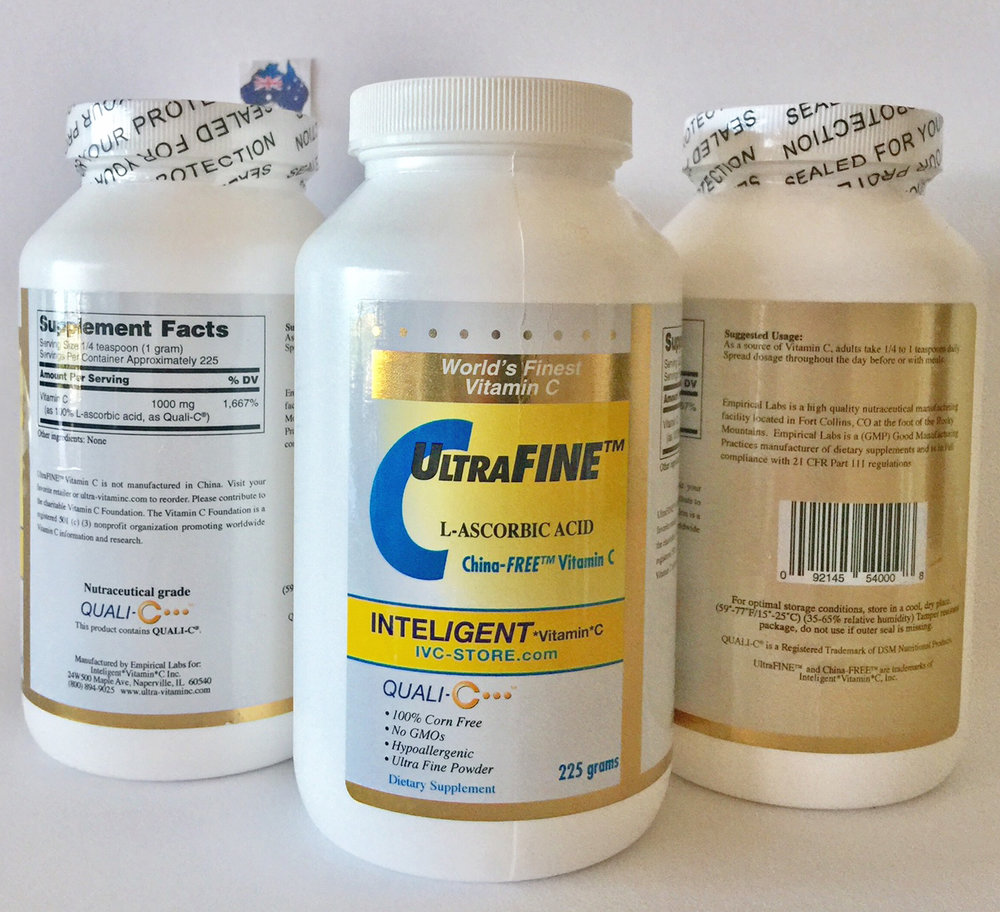 Suitable for Higher Doses - Pure L-Ascorbic Acid, Pharmaceutical Grade Buy Now