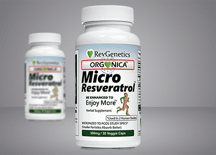 Micro 99% Pure Trans Resveratrol Used in 2 clinical studies