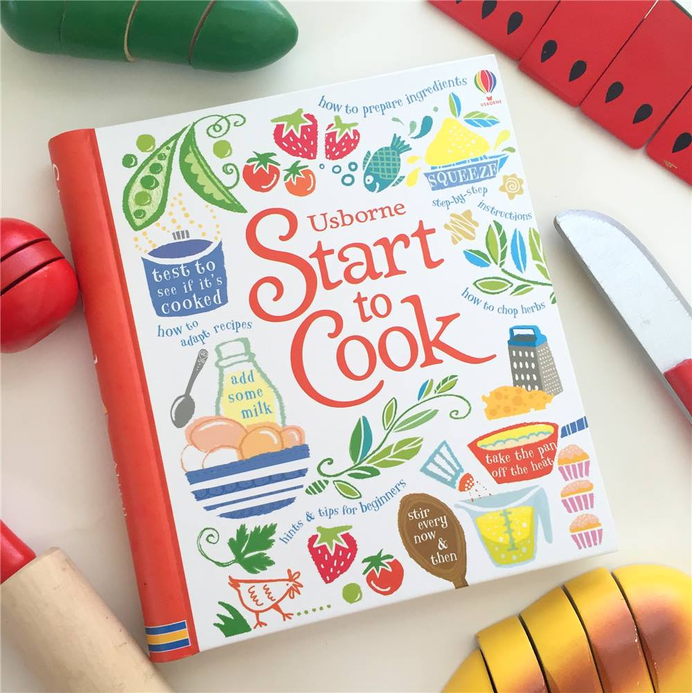 Have a child who is itching to get into the kitchen? This is the perfect place to start. These delicious recipes give the kids in your life a foundation for cooking, and may even give you a break from making dinner! Look through the book and find a recipe that interests you both. Get started and have fun!    Find Start to cook here