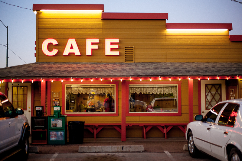 The Bee Line Cafe - Payson, Arizona. All photos by Alan Gastelum